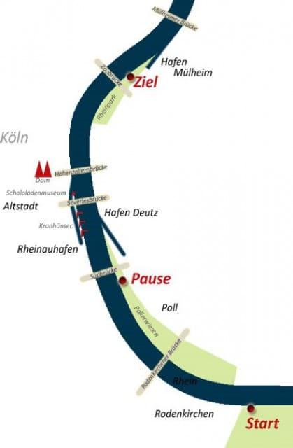 Rafting Köln Karte R1