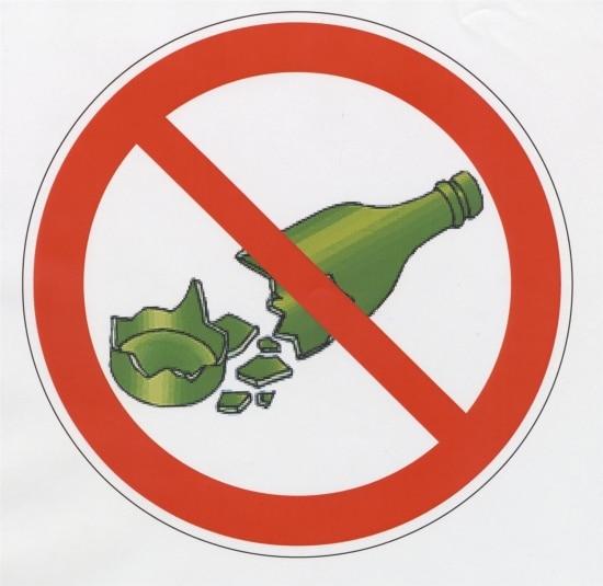 Tipps & Wichtiges fuers Rafting - keine Glasflaschen