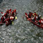 Flussabenteuer Müngsten im Doppelkanu